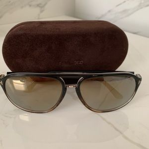 Tom Ford men aviator sunglasses